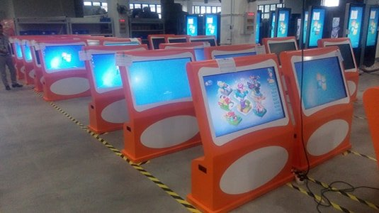 BETVIS launched a new product Early Childhood Education Interactive Kiosk (5)-min