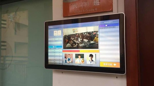 Betvis Digital Signage Classroom Solution Facilitates Colorful Campus Life in 2017