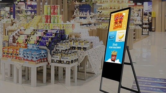 BETVIS Digital Audio-Visual Solution in New Retailing