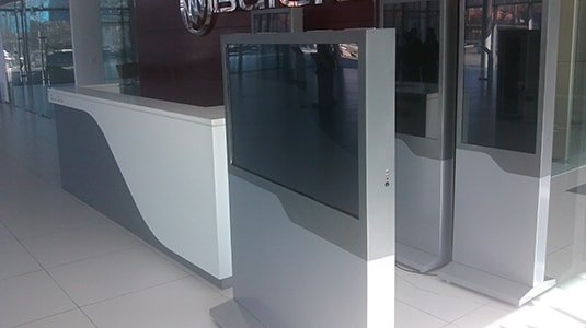 Betvis new digital standee enters Buick 4S shop