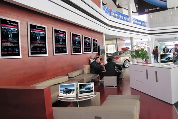 Automotive 4S store digital signage solution-Buick-Betvis (4)