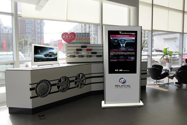 Automotive 4S store digital signage solution-Buick-Betvis (5)