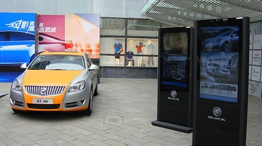Automotive 4S store digital signage solution-Buick-Betvis (7)