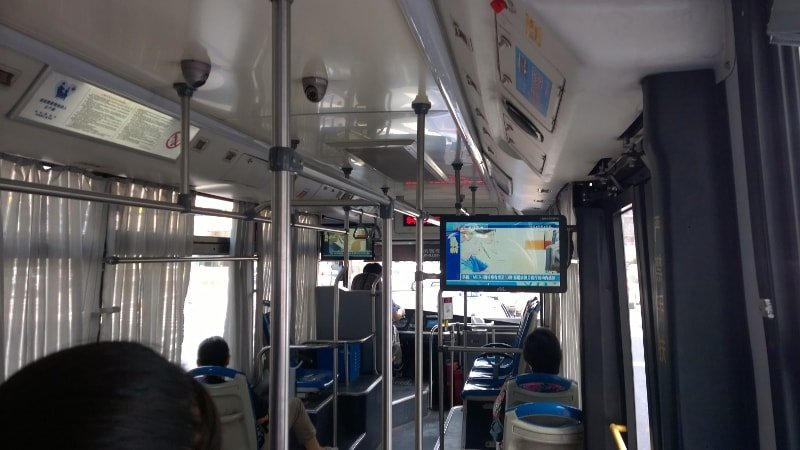 Bus digital signage solution-Bus Online transportation China-Betvis (1)