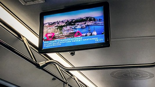 Bus digital signage solution- Transportation Istanbul Turkey-Betvis (3)