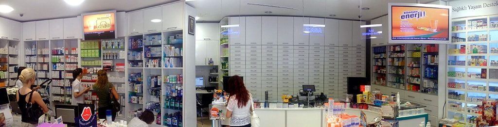 New retail chain store digital signage solution- Istanbul pharmacy Turkey-Betvis (5)