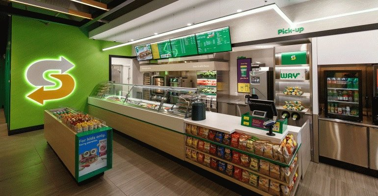 Subway stores in USA 2017 new