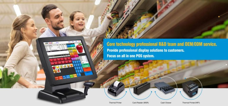 Digital signage POS solution and application in 2018