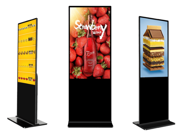 20190929-Free stand digital signage