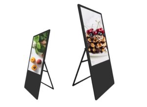 New LCD Portable Digital Signage Poster 20191012