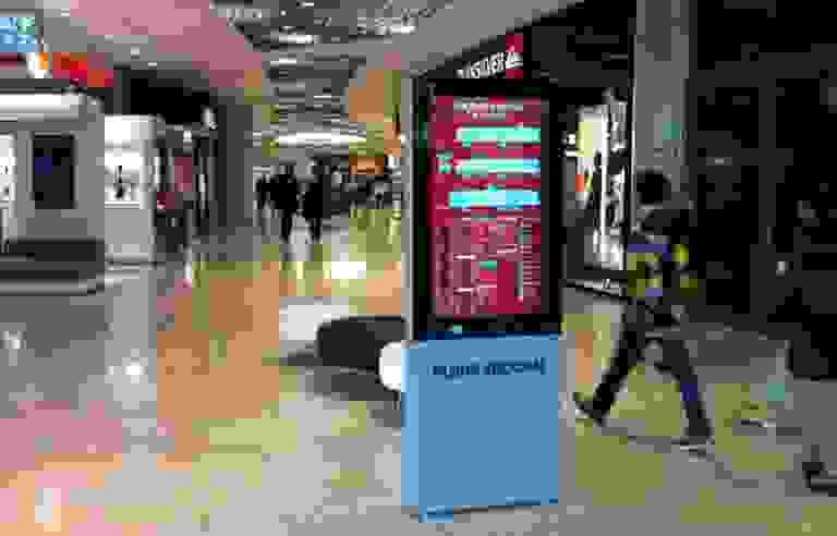 Shopping Mall Digital Signage