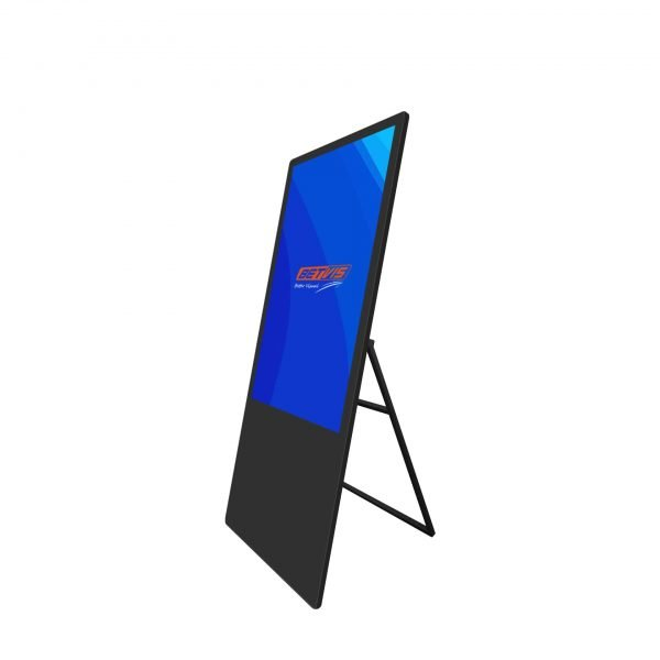 43 inch portable digital poster-Betvis digital signage products (4)
